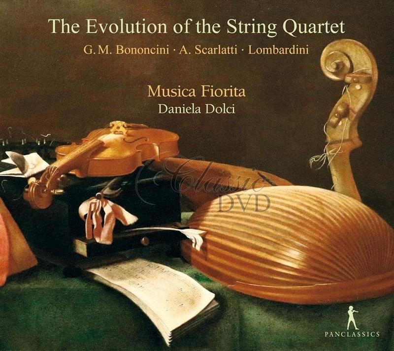 The Evolution of the String Quartet (CD)