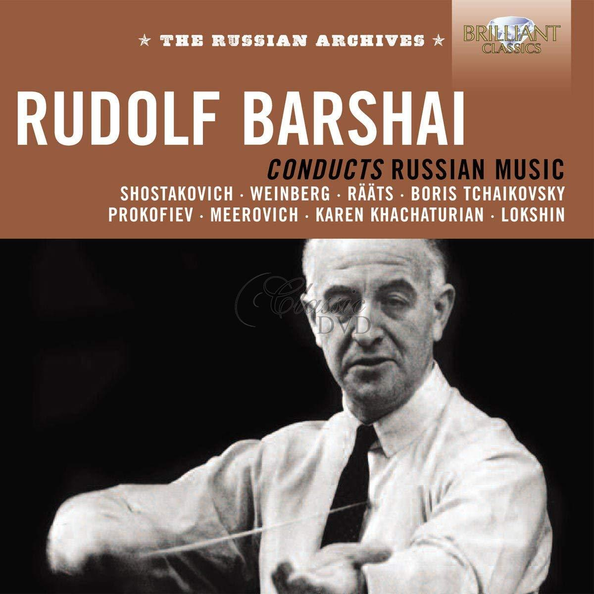 Rudolf Barshai conducts Russian music (3CD)