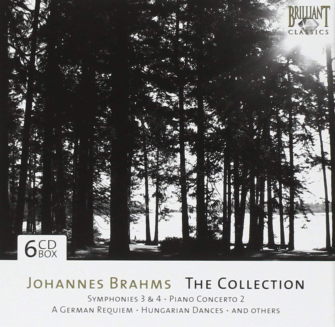 BRAHMS,J.: The Collection (6CD)