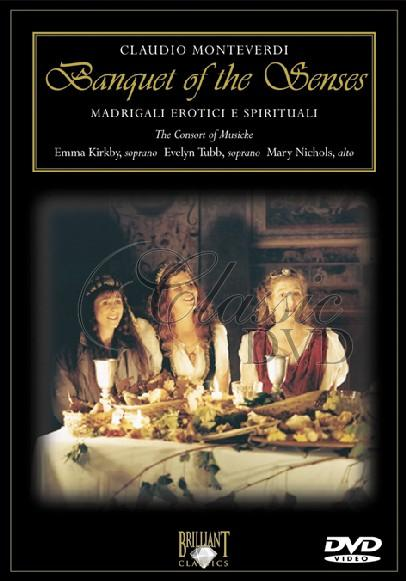 MONTEVERDI,C.: Banquet of the Senses (DVD)