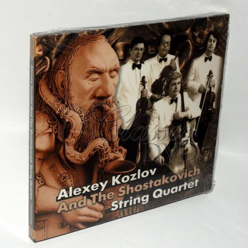 Alexey Kozlov & Shostakovich String Quartet (CD)
