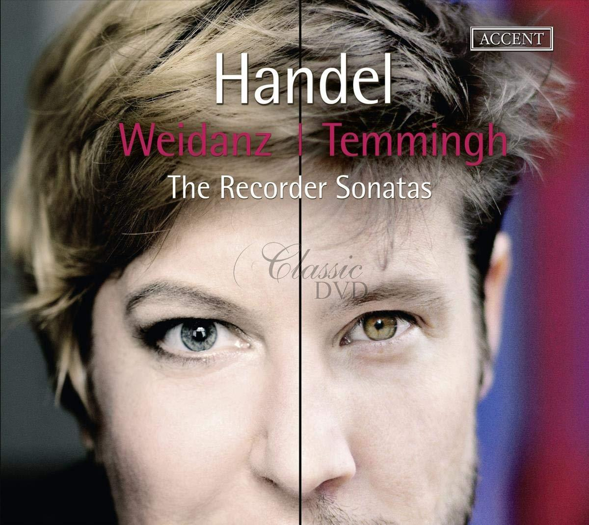 Handel: The Recorder Sonatas.   Stefan Temmingh; Wiebke Weidanz (CD)