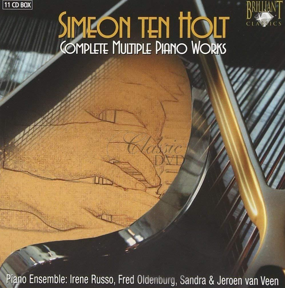 SIMEON TEN HOLT Complete Multiple Piano Works (11CD)