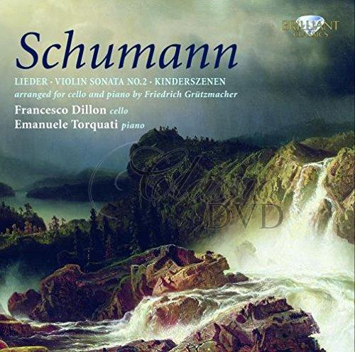 SCHUMANN,R.: Works for Cello & Piano [Transcriptions by Grützmacher] (2CD)