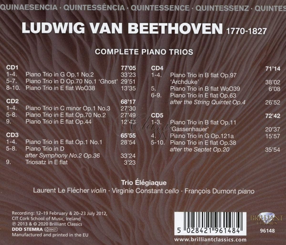 Beethoven: Complete Piano Trios (5CD)