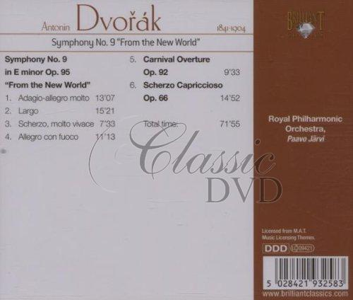 DVOŘÁK,A.: Symfonie 9 [Royal Philharmonic/Jarvi] (CD)