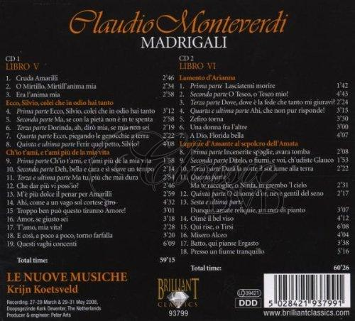 MONTEVERDI,C.: Madrigali (2CD)