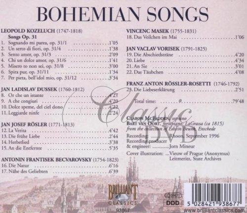 BOHEMIAN SONGS (CD)