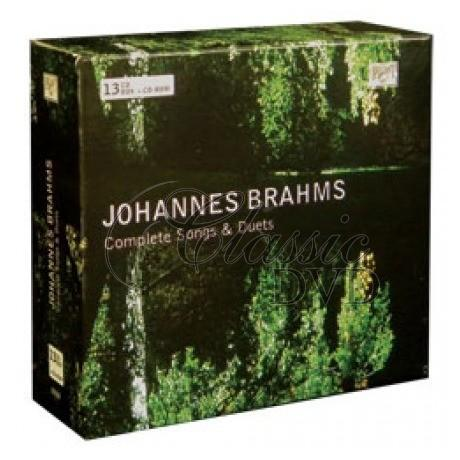 BRAHMS,J.: Complete Songs & Duets (13CD)