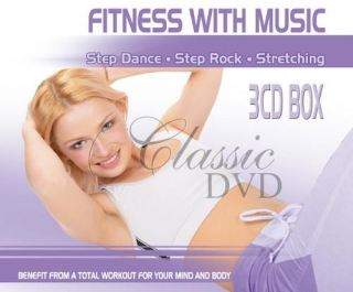 FITNESS & MUSIC: Step Dance. Step Rock. Streching (3CD)