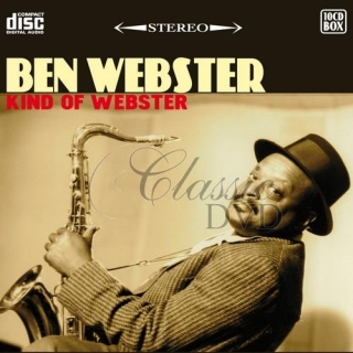 BEN WEBSTER: Kind Of Webster - SBĚRATELSKÁ EDICE (10CD)