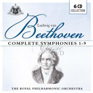 Beethoven: Complete Symphonies No.1-9. Royal Philharmonic Orchestra (6CD)