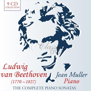 Beethoven: The Complete Piano Sonatas. Jean Muller (9CD)