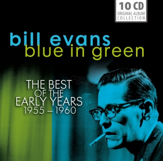 Bill Evans - Blue in Green. The Best of the Early Years 1955-1960 (10CD)