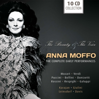 Anna Moffo - The Beauty & The Voice (10CD)