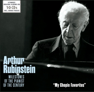 Arthur Rubinstein - My Chopin Favorites - Original Albums (10CD)