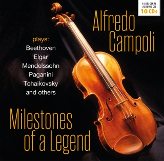 Alfredo Campoli - Milestones of a Legend (10CD)