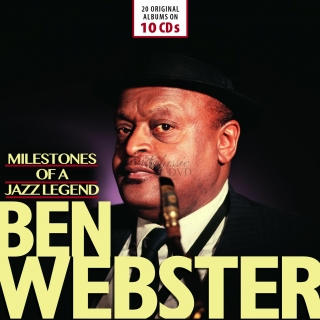 Ben Webster: Milestones Of A Jazz Legend - Original Albums (10CD)