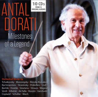 Antal Dorati - Milestones of a Legend (10CD)