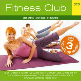 FITNESS CLUB: Step Dance. Step Rock. Streching (3CD)