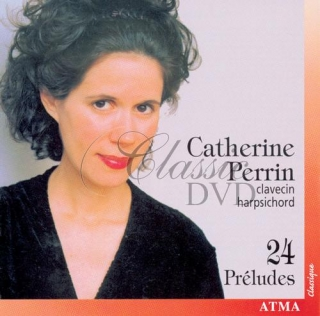 24 PRELUDES - PERRIN, CATHERINE (CD)