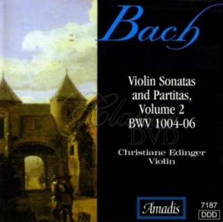 BACH,J.S.: Sonatas and Partitas for Solo Violin, Vol. 2 (CD)