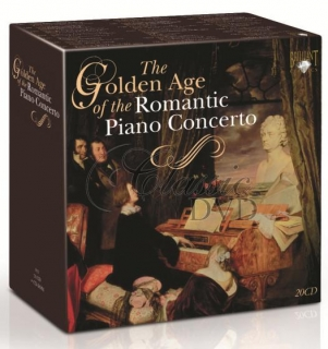GOLDEN AGE OF ROMANTIC PIANO CONCERTO (20CD)