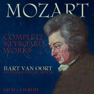 MOZART,W.A.: Complete Keyboard Works - On period Instruments (14CD)