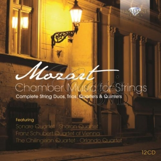 MOZART,W.A.: Chamber music for strings (12CD)
