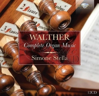 WALTHER: Complete Organ Music; Simone Stella (12CD)