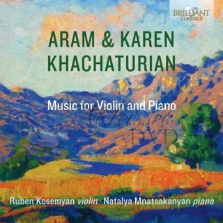 ARAM & KAREN KHATCHATURIAN: Music for Violin and Piano (CD)