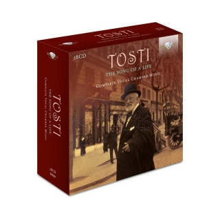 TOSTI - The Song of a Life, Complete Vocal Chamber Music SBĚRATELSKÁ EDICE (18CD)
