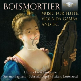BOISMORTIER: Music for Flute, Viola da Gamba and B.C. (CD)
