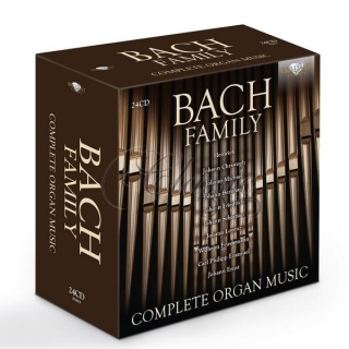 BACH FAMILY: Complete Organ Music (24CD)