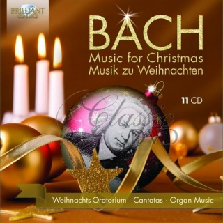 BACH: Music for Christmas, Musik zu Weihnachten (11CD)