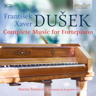 F.X. Dusek: Complete Music for Fortepiano. Marius Bartoccini (5CD)