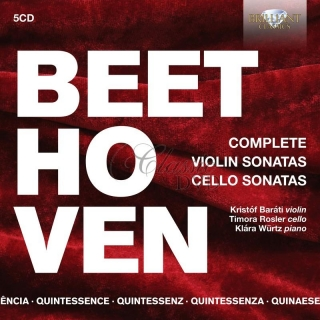 Beethoven: Complete Violin Sonatas & Cello Sonatas (5CD)