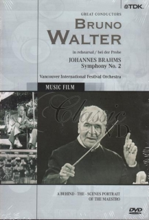 BRUNO WALTER: Conducts Brahms Sym. 2 (DVD)