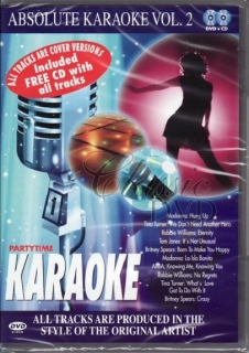 ABSOLUTE KARAOKE VOL.2 (DVD+CD)
