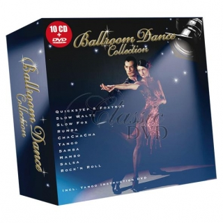 BALLROOM DANCE COLLECTION: DÁRKOVÁ EDICE (10CD + DVD)