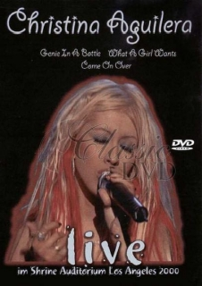 CHRISTINA AGUILERA: Live in Los Angeles 2000 (DVD)