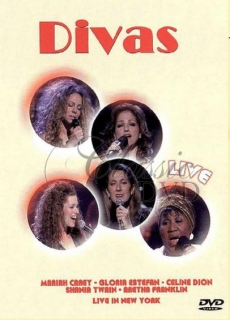 DIVAS: Carey/Estefan/Dion/Twain/Franklin - In New York (DVD)
