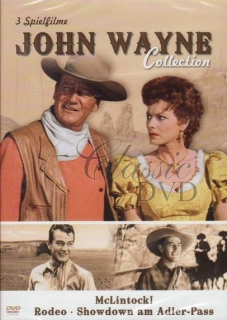 JOHN WAYNE COLLECTION: McLintock! Rodeo. Showdown (DVD)