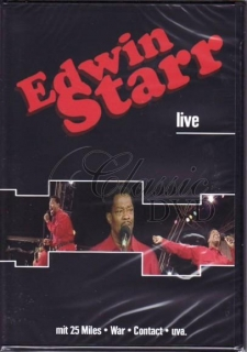 EDWIN STARR: Live in Concert (DVD)