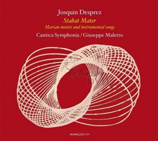 Josquin Desprez: Stabat Mater, Marian Motets And Instrumental Songs. Cantica Symphonia (CD)