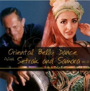 BELLYDANCE COLLECTION: Vol.21 (Setrak & Samara) (CD)