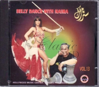 BELLYDANCE COLLECTION: Vol.13 Belly Dance with Naima (CD)