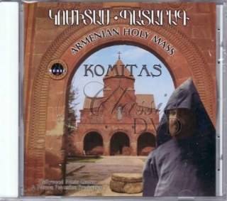 ARMENIA: Armenian Holy Mass - KOMITAS (CD)