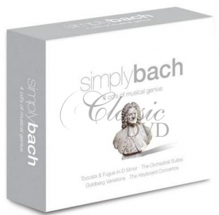 BACH,J.S.: The Best Of - DÁRKOVÁ EDICE (4CD)