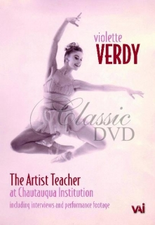 VIOLETTE VERDY: The Artist Teacher (DVD)